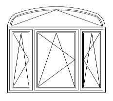 33 = Korbbogenfenster