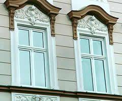 Fenster für Denkmalschutz