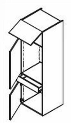 korpus fur kuhlschrank. Black Bedroom Furniture Sets. Home Design Ideas
