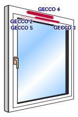 Gealan GECCO Lüftungssystem
