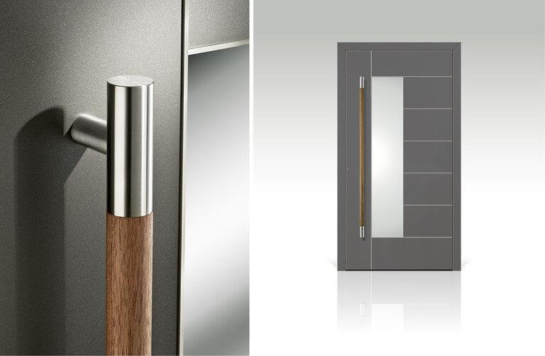 Aluminium haustüren  Aluminium Haustüren - Intarsia › Schreinerartikel