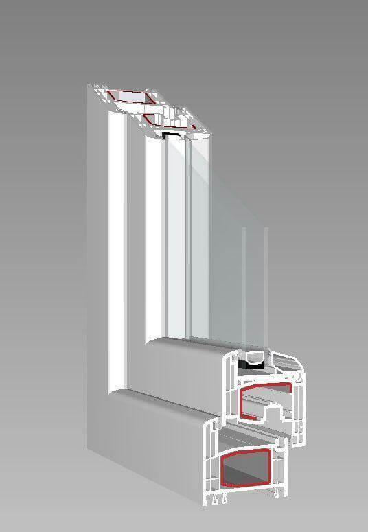querschnitte gealan fenster schreinerartikel. Black Bedroom Furniture Sets. Home Design Ideas