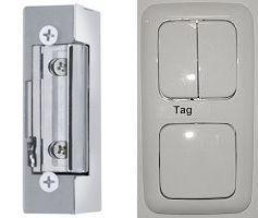 Schalter für Tag und Nacht Stellung und E-Öffner