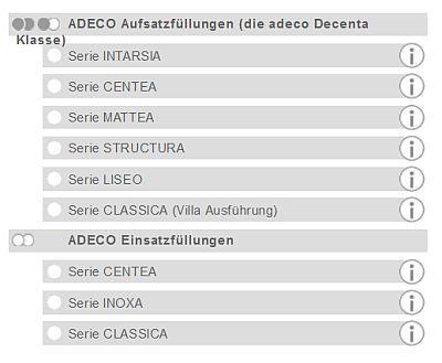 Adeco Modelle