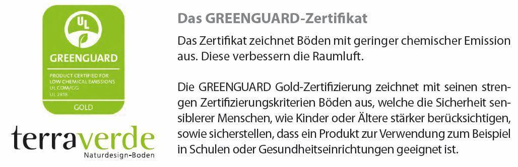 TerraVerde GREENGUART-Zertifikat