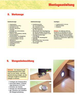 M.A. Werkzeug und Wangenbeleuchtung