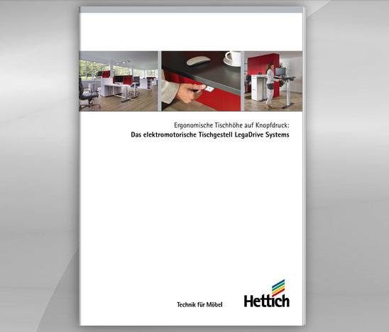 PDF Prospekt mit Legadrive Bestellinformationen
