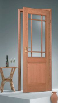 mf-2f-sj9-amerik-kirschbaum-lackiert-verglasung-klarglas-facette-stilzarge-lh